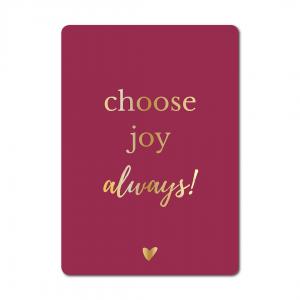 1944 choose joy always wenskaart studio jot'm