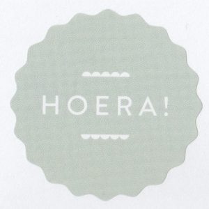1961 sticker hoera studio jot'm