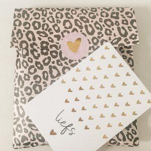 1985 Studio Jotm geschenkzak leopard nude