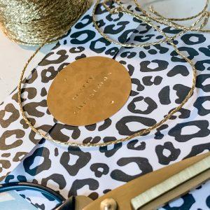 1986 geschenkzakje leopard zwart wit studio jot'm
