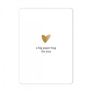 2108 studio jot'm big paper hug kaart